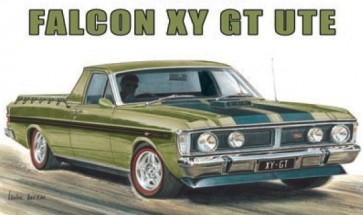 Australian Cars & Transport Ford Falcon XY GT Ute Tin Sign
