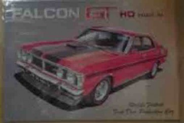 Australian Cars & Transport 1971 Ford GT HO Phase III Falcon Tin Sign
