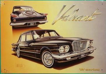 Australian Cars & Transport Chrysler R Series Valiant Tin Sign