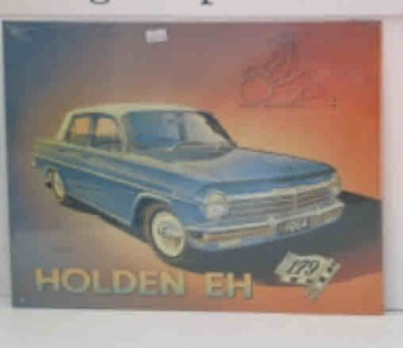 Australian Cars & Transport 1964 EH Holden Tin Sign