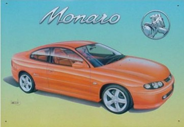 Australian Cars & Transport 2001 Holden Monaro Tin Sign
