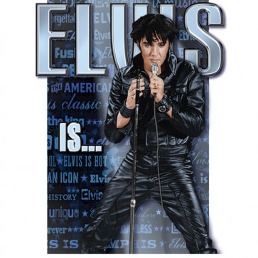 Elvis - Elvis Is... - Tin Sign