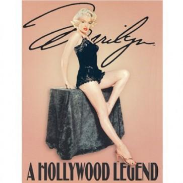 Marilyn - Hollywood Legend - Tin Sign