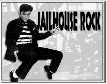 Elvis - Jailhouse Rock - Tin Sign