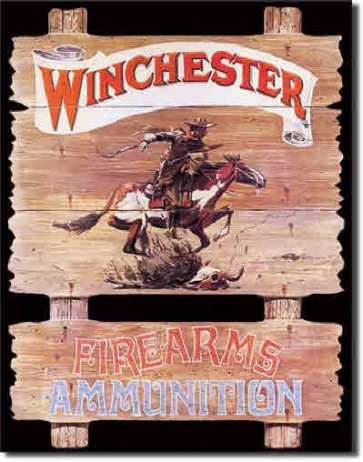 Winchester - Express Rider - Tin Sign