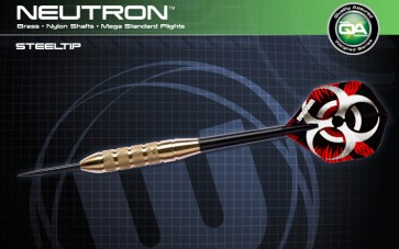 WINMAU NEUTRON BRASS DARTS SET OF 3 20gm