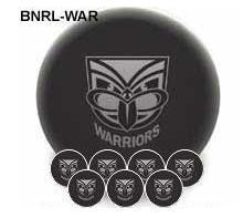 NRL Licensed POOL BALLS - 7 Ball Pack - New Zealand WARRIORS