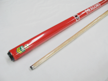 "NRL Licensed Pool Snooker Billiards CUE - 2pce 57"" - St George Illawarra DRAGONS"