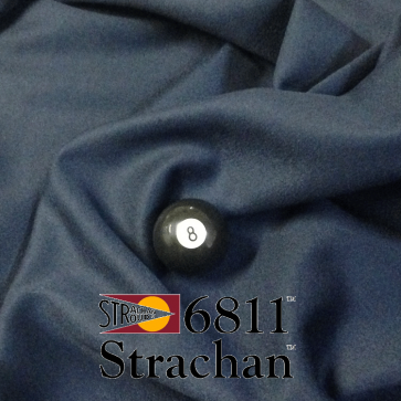 STRACHAN 6811 English Pool Snooker Billiards CLOTH 10ft x 5ft - NAVY BLUE