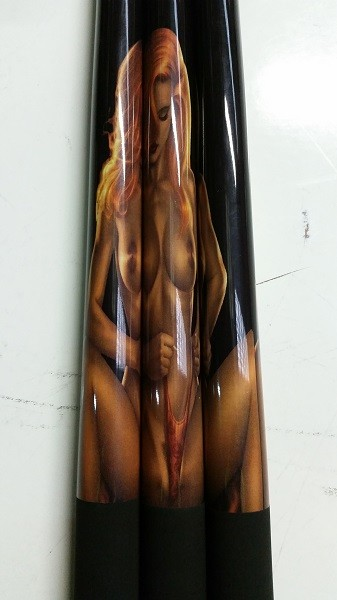 Adult Only Pool/Billiard Pumpkin Girl Graphite Cue