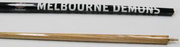 """AFL Licensed Pool Snooker Billiards CUE - 2pce 57"""" - Melbourne DEMONS"""