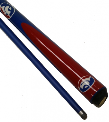 "AFL Licensed Pool Snooker Billiards CUE - 2pce 57"" - Western BULLDOGS"