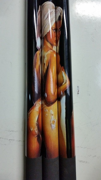 Adult Only Pool/Billiard Shower Graphite Cue