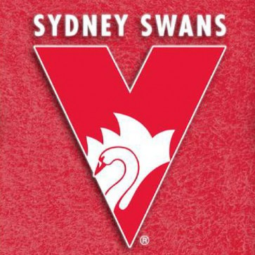 AFL Licensed Pool Snooker Billiards CLOTH 9 Foot - Sydney SWANS