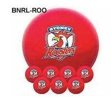 NRL Licensed POOL BALLS - 7 Ball Pack - Sydney ROOSTERS