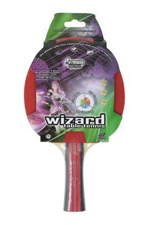 Wizard 3 Star Table Tennis Bat