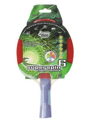 Superspin 6 Star Table Tennis Bat