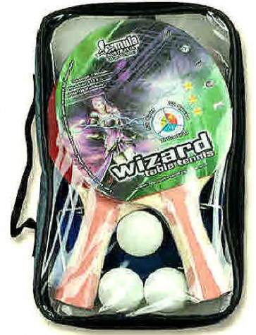 Wizard 2 Player Table Tennis Set