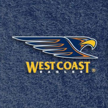 AFL Licensed Pool Snooker Billiards CLOTH 7 Foot - West Coast EAGLES