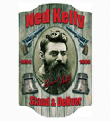 "3-D PREMIUM WALL SIGN ""NED KELLY"""