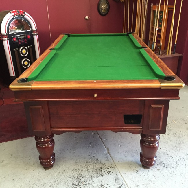ExPub Ft Electronic Coin Op Pool Table With Accessories - United billiards pool table coin operated
