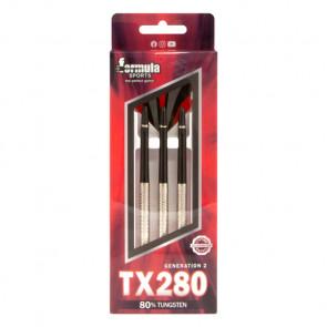 TX280 80% Tungsten Darts Alloy Shafts - In wallet 24gr
