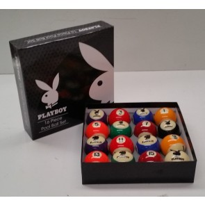 """Official Licensed KELLY POOL BALL Set 2"""" - PLAYBOY"""