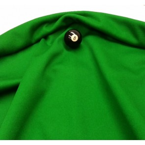 Eddie Charlton DIRECTIONAL Pool Snooker Billiards CLOTH 7ft x 3.6ft - GREEN