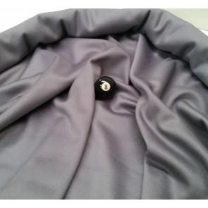 Eddie Charlton DIRECTIONAL Pool Snooker Billiards CLOTH 7ft x 3.6ft - GREY