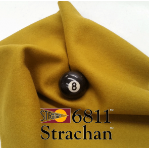 STRACHAN 6811 English Pool Snooker Billiards CLOTH 10ft x 5ft - ANTIQUE GOLD
