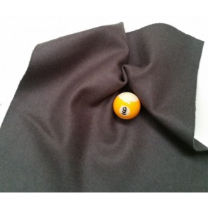 Eddie Charlton DIRECTIONAL Pool Snooker Billiards CLOTH 7ft x 3.6ft - CHARCOAL