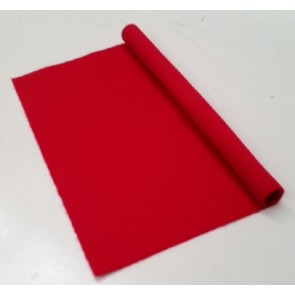 HAINSWORTH English Pool Snooker Billiards CLOTH 8ft x 4ft - RED