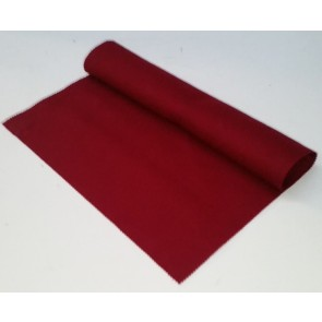 HAINSWORTH English Pool Snooker Billiards CLOTH 12ft x 6ft - MAROON