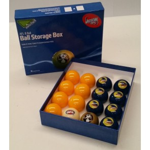 AFL Licensed POOL BALLS - 16 Pack - Adelaide CROWS