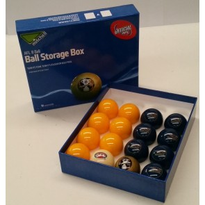 AFL Licensed POOL BALLS - 16 Pack - West Coast EAGLES