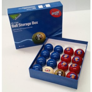 AFL Licensed POOL BALLS - 16 Pack - Brisbane LIONS