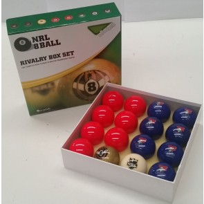 NRL Licensed POOL BALLS - 16 Pack - Newcastle KNIGHTS