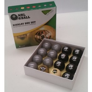 NRL Licensed POOL BALLS - 16 Pack - New Zealand WARRIORS