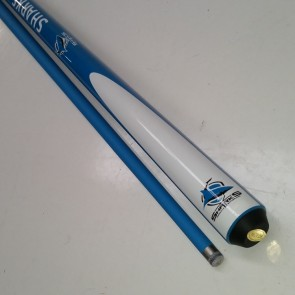 "NRL Licensed Pool Snooker Billiards CUE - 2pce 57"" - Cronulla Sutherland SHARKS"