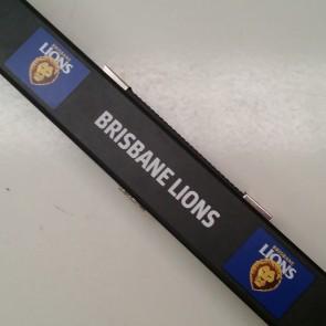 AFL Pool Snooker Billiards CUE CASE - Brisbane LIONS