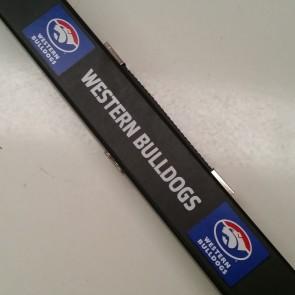 AFL Pool Snooker Billiards CUE CASE - Western BULLDOGS
