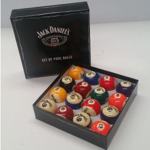 "Official Licensed KELLY POOL BALL Set 2"" - Jack Daniel's"