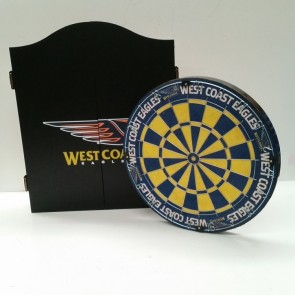 AFL Licensed DARTBOARD PACK -  West Coast EAGLES