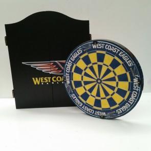 AFL Licensed DARTBOARD PACK -  West Coast EAGLES