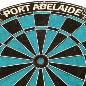 AFL Licensed DARTBOARD - Port Adelaide POWER