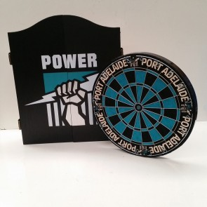 AFL Licensed DARTBOARD PACK - Port Adelaide POWER