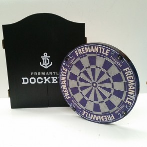 AFL Licensed DARTBOARD PACK - Fremantle DOCKERS