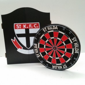 AFL Licensed DARTBOARD PACK - St Kilda SAINTS