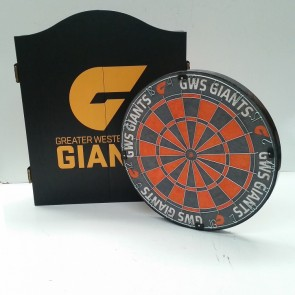 AFL Licensed DARTBOARD PACK - Greater Western Sydney GWS GIANTS
