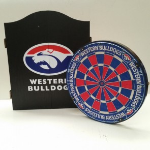 AFL Licensed DARTBOARD PACK - Western BULLDOGS